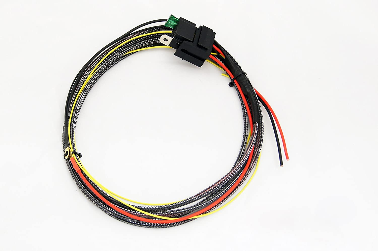 Amazon.com: UM Fuel Pump Wiring Harness Kit with Relay Kit: AutomotiveAmazon.com