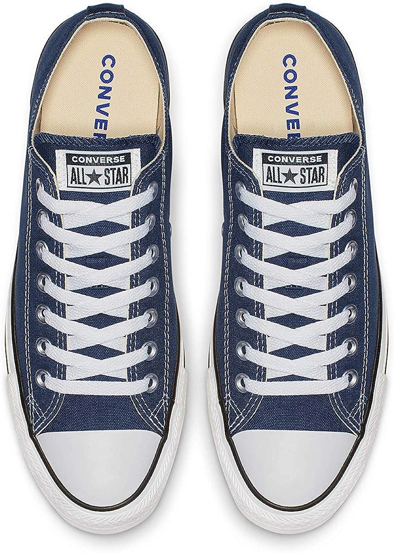 All Star Oxford Boys Senior Canvas Shoes Navy Tela