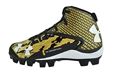 gold under armour baseball cleats