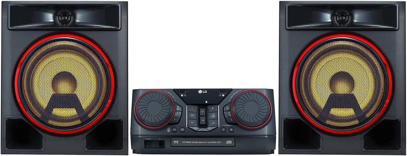 LG CK56 - Equipo de Sonido de Alta Potencia (700 W, Bluetooth, USB ...