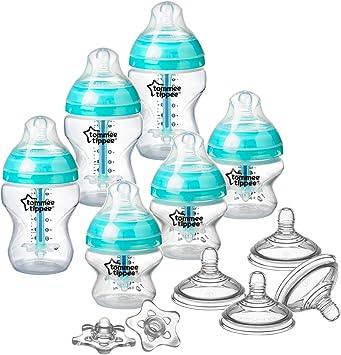 Juego completo de accesorios para alimentaci/ón de beb/é Cool Blue Tommee Tippee