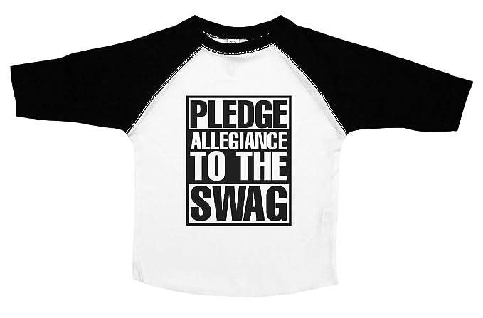 Amazon.com: Promesa de Lealtad a el botín/Funny bebé Camisas ...