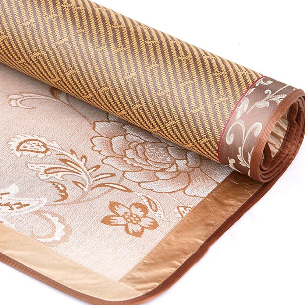 WENZHE Matratzen Matratze Doppelseitig Verfügbar Schlafmatte Rattan EIS Seide Faltbar Weich Sommerkühlung Matratzen,7 Größen (größe   120X190cm)