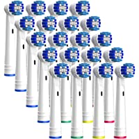 20 opzetborstels voor Oral-B elektrische tandenborstels (draaiend)