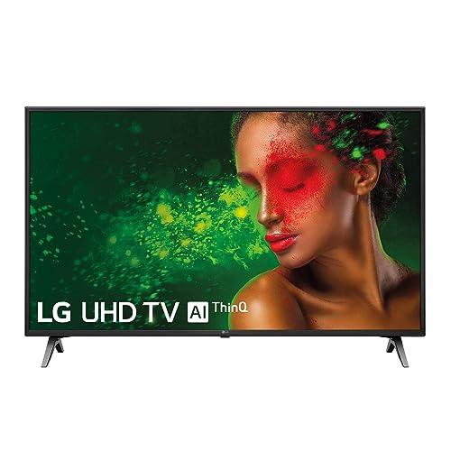 LG 49UM7100ALEXA Smart TV UHD 4K de 124 cm 49 con Inteligencia Artificial Procesador Quad Core HDR y Sonido Ultra Surround color negro