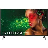 """LG 49UM7100ALEXA - Smart TV 4K UHD de 124 cm (49"""") con inteligencia artificial (procesador Quad Core, HDR y Sonido Ultra Surround) color negro"""