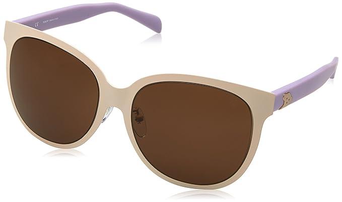 Tous STO326G-08LB, Gafas de Sol para Mujer, Beige/Violet, 58