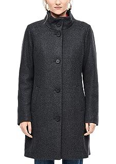 s.Oliver RED Label Damen Zweireiher Mantel in Woll Optik: s