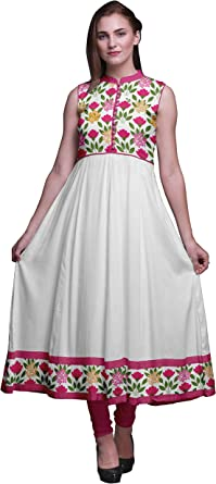 Femmes Coton Kurta Ready Made Indian Taille L XL