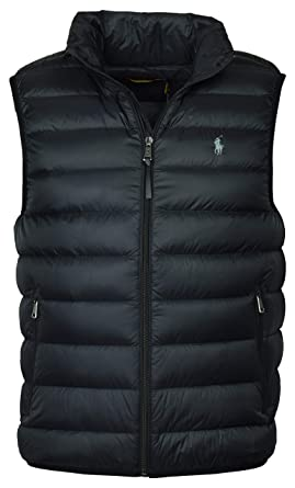 Größe 40 100% original 2020 Polo Ralph Lauren Herren Daunen Weste Daunenweste polo black ...