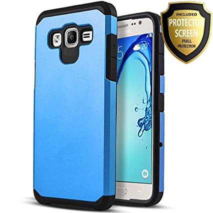 Amazon.com: Samsung Galaxy J7 Case, starshop híbrido Heavy ...