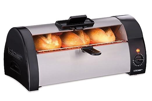 Cloer 3080 Horno tostador para panecillos, pasteles o levaduras ...