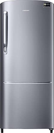 Samsung 212 L 3 Star Direct Cool Single Door Refrigerator(RR22M272ZS8, Elegant Inox,…