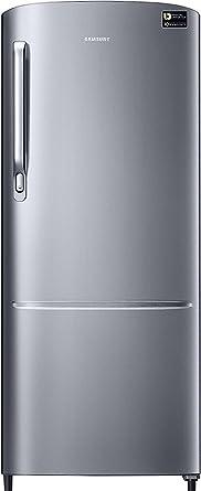 Samsung 212 L 3 Star Direct Cool Single Door Refrigerator(RR22M272ZS8, Elegant Inox,�