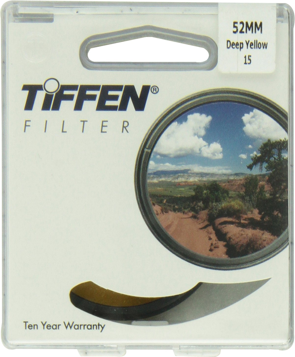 Tiffen 52mm 15 Filter (Yellow) by Tiffen