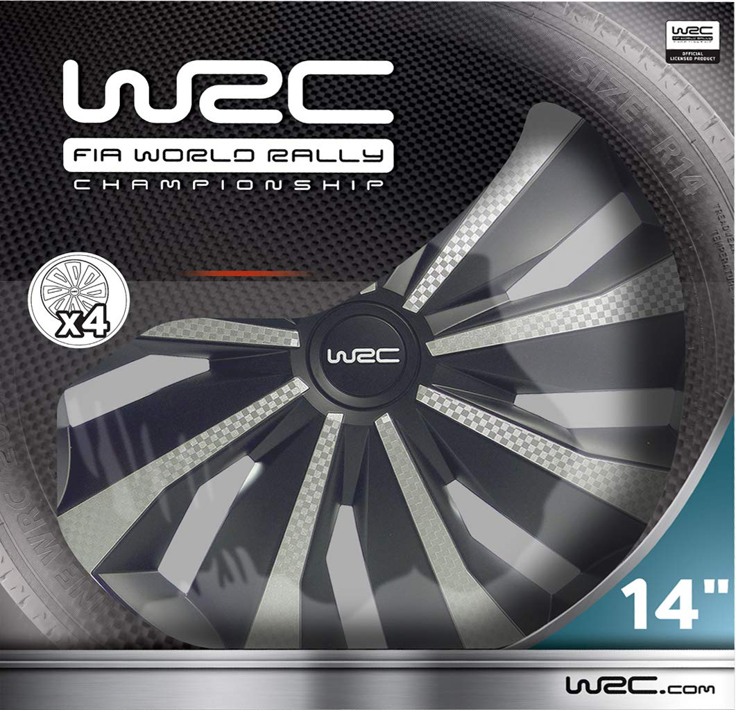 WRC 7499 tapacubos 16 Pulgadas Set de 4