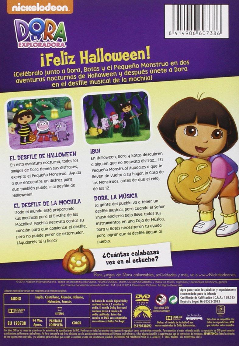 Amazon.com: Dora, La Exploradora: El Desfile De Halloween De Dora (Import Movie) (European Format - Zone 2) (2013) Dibu: Movies & TV