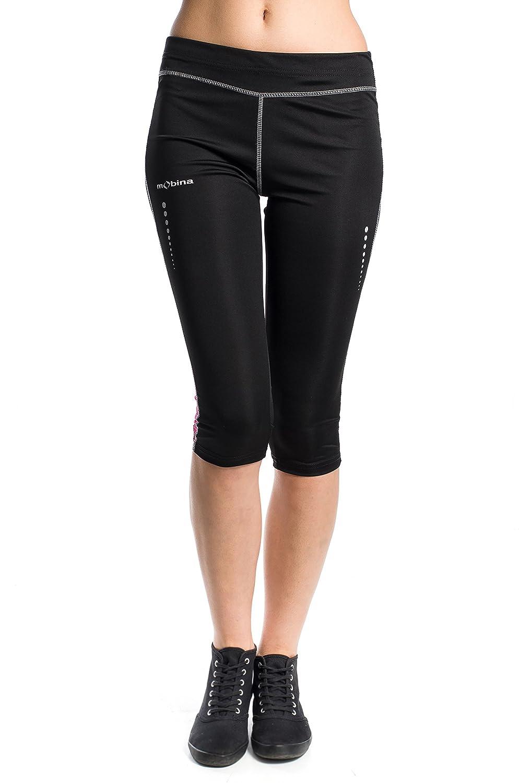 Zer one Pantalones Cortos Deportivos Unisex Mujeres Deportes Yoga Gimnasio Compresi/ón Apretada Correr Fitness Leggings Pantalones Cortos de Ejercicio Entrenamiento Shorts Deportivos