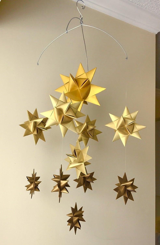 Amazon com : Star Craft 'Ursa Major' Star Mobile, Ombre Gold