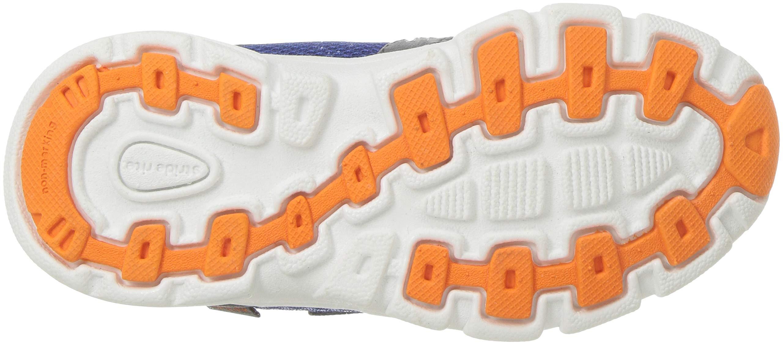Stride Rite Boys' Made 2 Play Taylor Sneaker, Navy/Orange 7.5 M US Toddler by Stride Rite (Image #3)