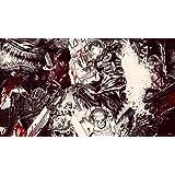 "Berserk Fabric Cloth Rolled Wall Poster Print - Size: (43"" x 24"" / 24"" x 13"")"