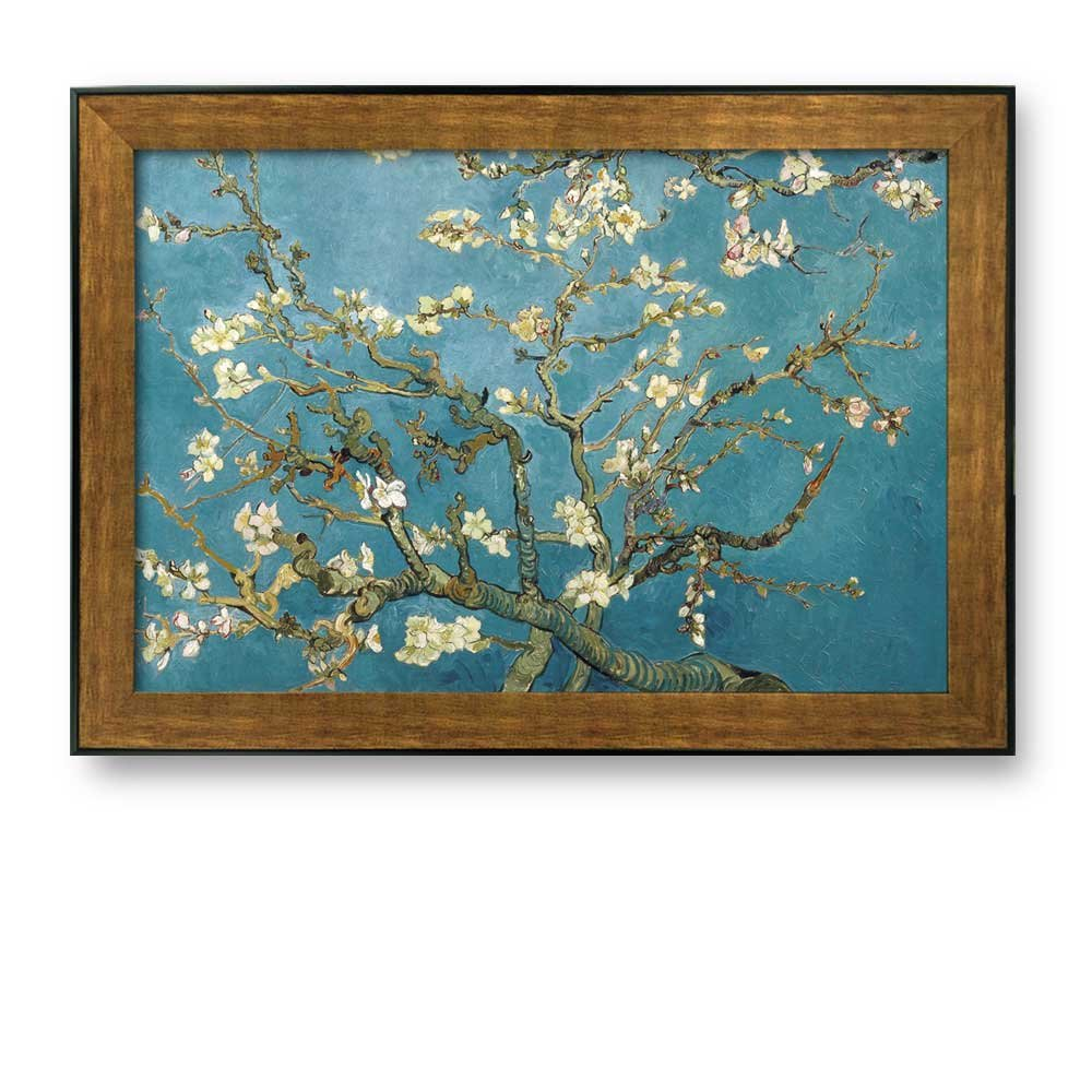 Framed Art Almond Blossoms by Vincent Van Gogh Interpretation in ...