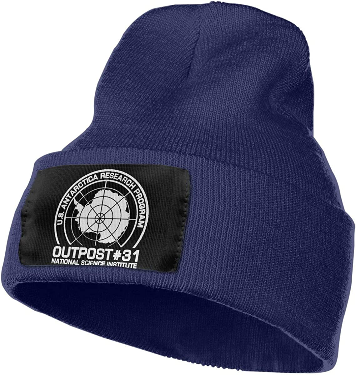 SLADDD1 Outpost 31 Antarctica Research Warm Winter Hat Knit Beanie Skull Cap Cuff Beanie Hat Winter Hats for Men /& Women