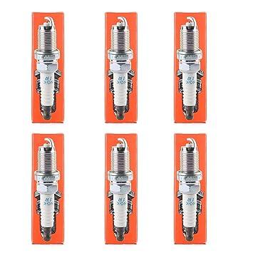 goodeal Bujías tóner 9807b-5617 W 6994 IZFR6 K11 de iridio para Honda Acura Accord Cívica: Amazon.es: Coche y moto