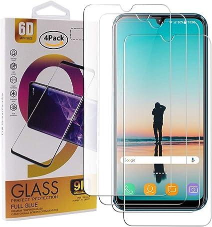 Guran 4 Paquete Cristal Templado Protector de Pantalla para DUODUOGO S10 Smartphone 9H Dureza Anti-Ara?azos Alta Definicion Transparente Película: Amazon.es: Electrónica