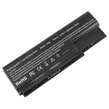 ARyee 5200mAh 11.1V Batería para portátil para Acer Aspire 5220 5230 5235 5300 5310 5315 5320 5330 5530 5530-U6F 5530G 5535 5535-S6: Amazon.es: Electrónica