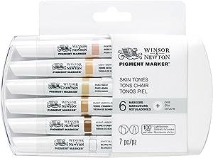 Winsor & Newton Pigment Marker Skin Tones 6 Set