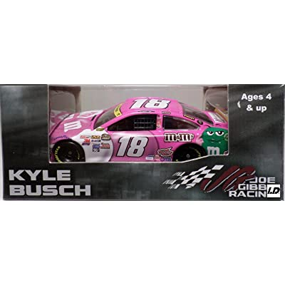 2015 (1st Championship) MMs M&Ms Paint Scheme Kyle Busch #18 Paint the Track Pink Toyota Camry 1/64 Scale Diecast Limited Edition Action Racing Collectables: Toys & Games [5Bkhe0801083]