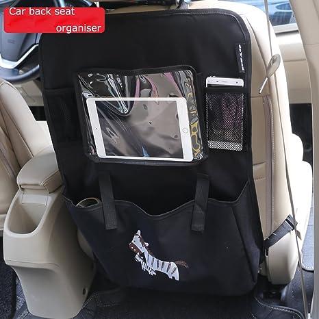 abimars coche Seat Organiser- Tidy Multi-bolsillo viaje bolsa de almacenamiento bolsillos multiusos para