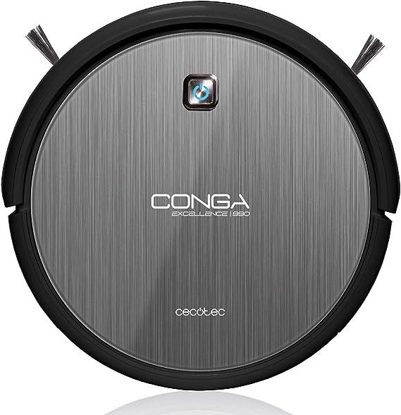 Cecotec Conga Excellence 990, Robot Aspirador 4 en 1. iTech 3.0 ...