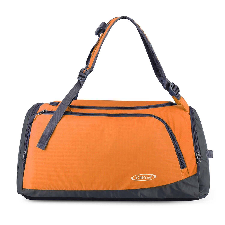 G4Free Bolsa de deporte liviana Bolsa de gimnasio Bolsa de viaje Mochila de fin de semana con compartimento para zapatos
