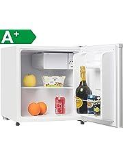 Melchioni ARTIC47LT Mini frigo bar con congelatore, A+, Silenzioso, 47L, Compressore e freezer, Frigorifero piccolo portatile da camera, ufficio, B&B, Hotel