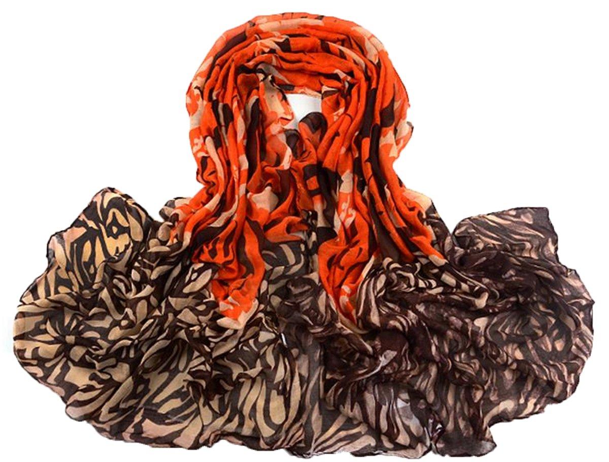 Apparelsales Women Warm Soft Scarf Shawl Neckerchief Wraps Muffler Neck Gaiter (WB42 Blue) Lindaeshop