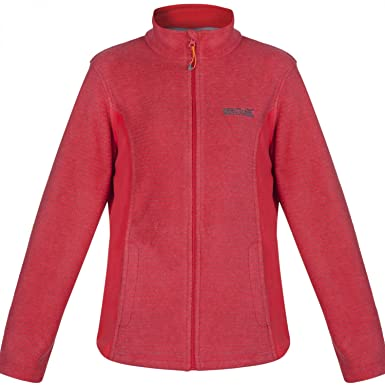 Regatta Womens/Ladies Kerria Full Zip Warm Thick Fleece Jacket ...