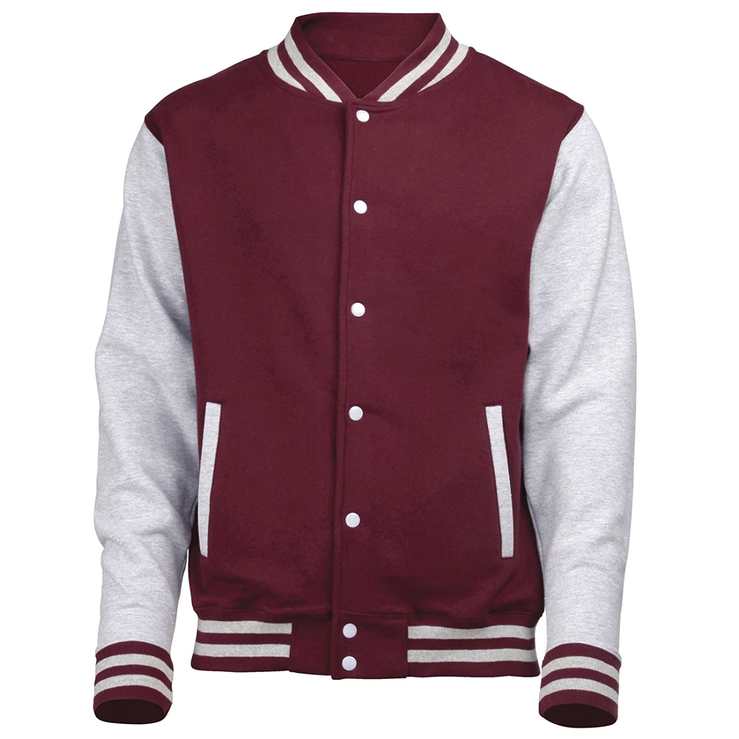 Soulstar Ritz Logo Varsity College Baseball Jacket: Amazon.co.uk ...
