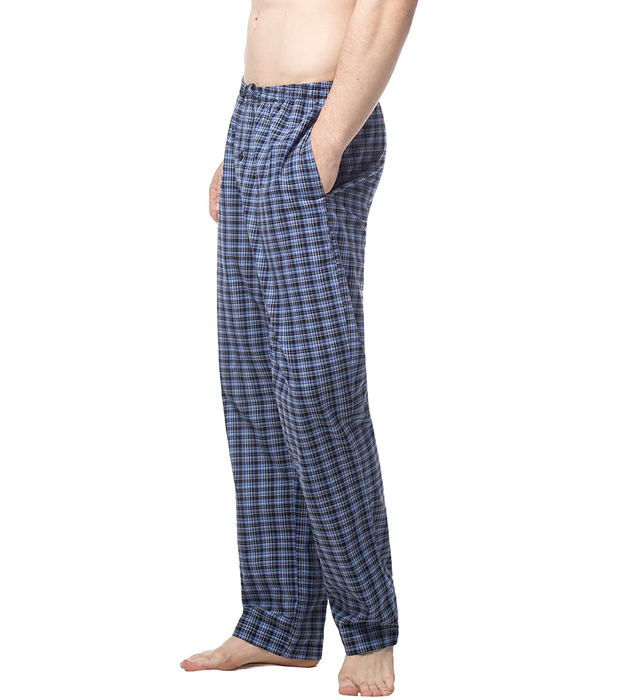LAPASA PerfectSleep - Pijama de Algodón con Estampado Escocés para Hombre M38: Amazon.es: Ropa y accesorios