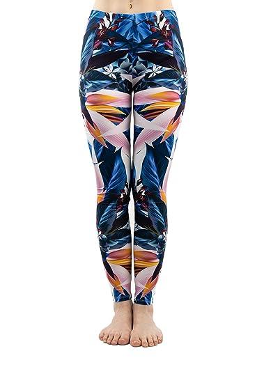 77522f35b20cbd PINK PLOT Women's Yoga Gym Popular Printed Buttery Soft Leggings Fashion  Thin Pants 20+Colors