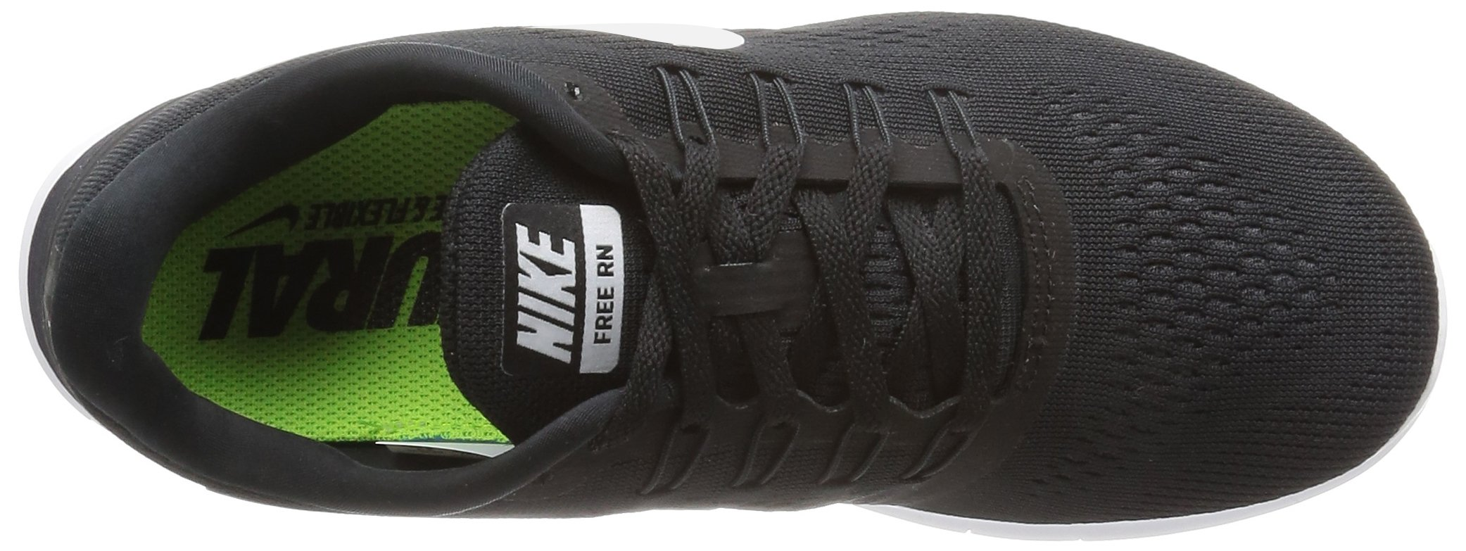 Women's Nike Free RN Running Shoe Black/Anthracite/White Size 8.5 M US