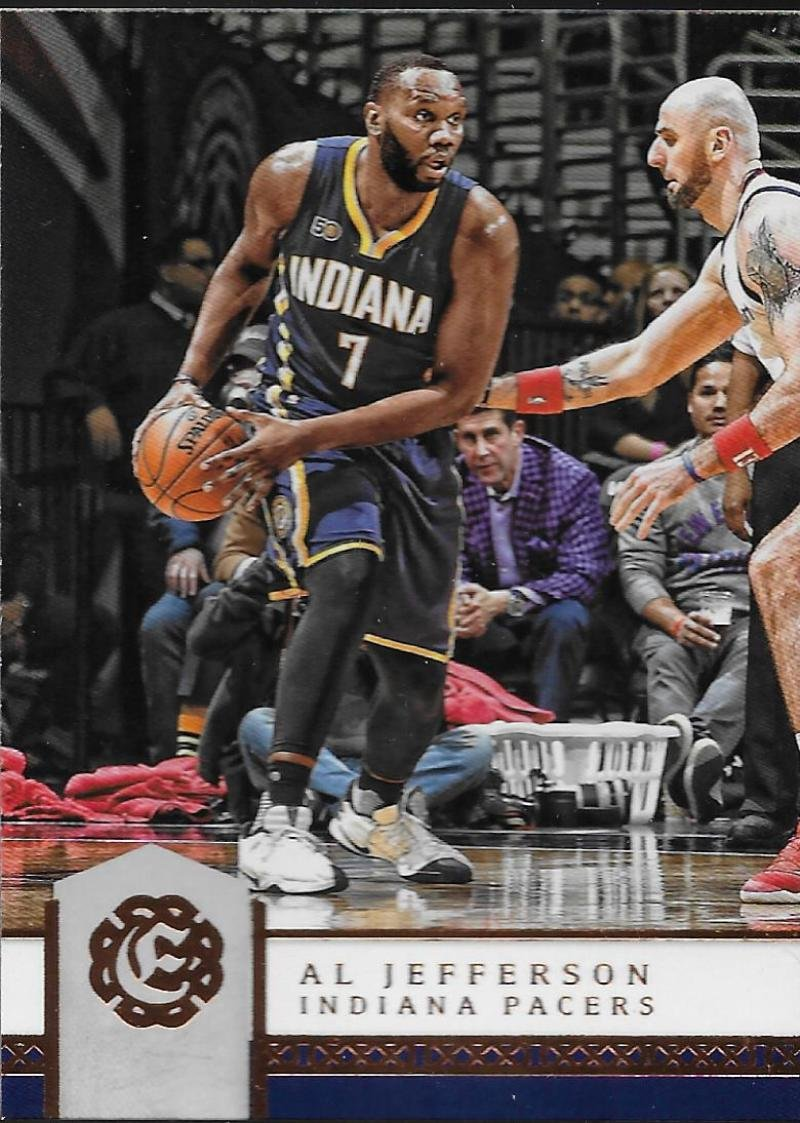 2016-17 Excalibur #72 Al Jefferson Pacers