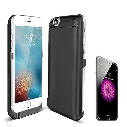 Amazon.com: iphone7 Batería Caso, vorosy Ultra Slim Caso con ...