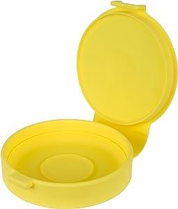Casabella Silicone Micro Egg Cooker, Yellow