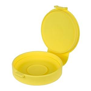 Casabella 53491 Silicone Micro Egg Cooker, Yellow