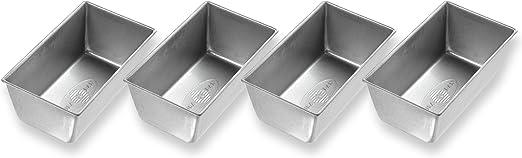 USA PAN, Strapped Mini Loaf Pan Set of Four