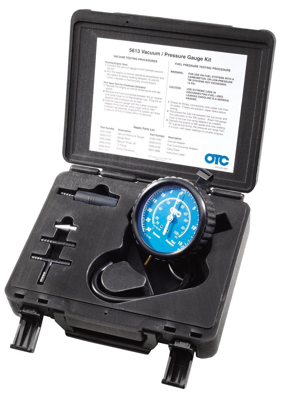 OTC 5613 Vacuum/Pressure Gauge Kit by OTC