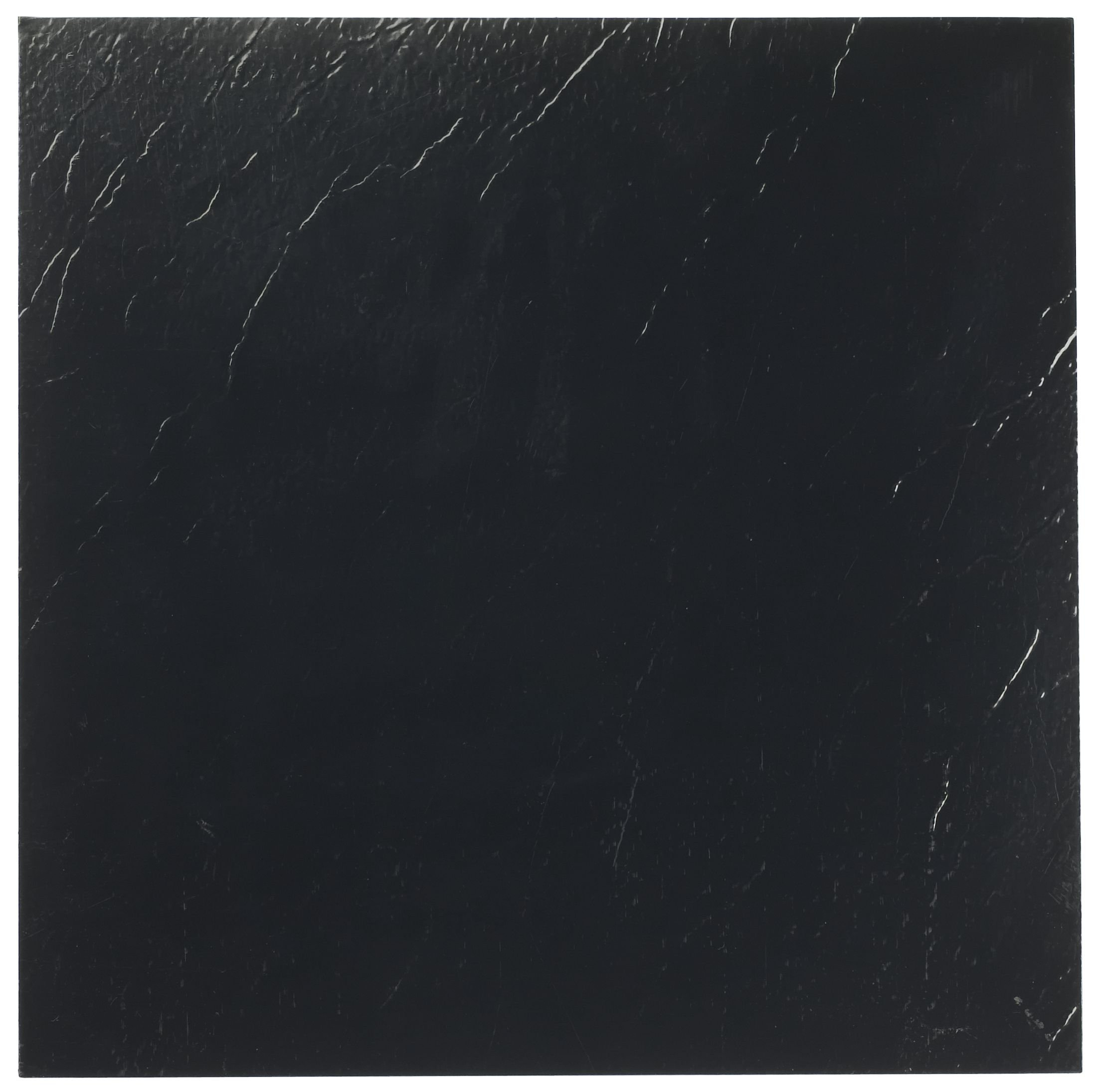 Achim Home Furnishings FTVSO10120 Nexus 12-Inch Vinyl Tile, Solid Black, 20-Pack