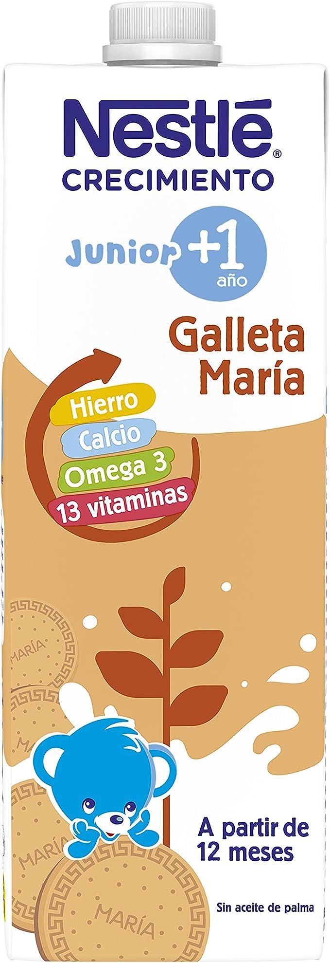 Nestlé Crecimiento con Galleta María A Partir de 1 Año, 1L